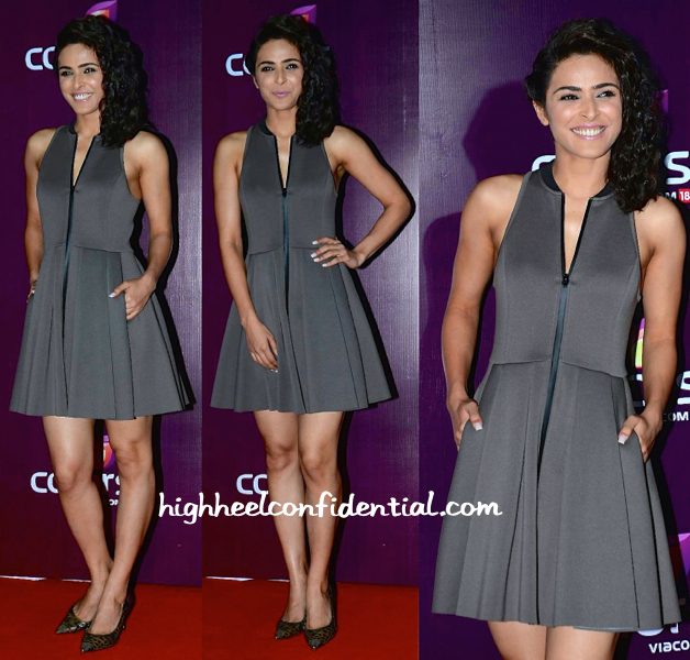 Madhurima Tuli In Alexander Wang At Colors TV Annual Party