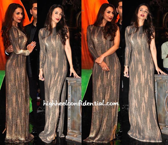 Malaika Arora Khan In namrata joshipura At India's Got Talent 2015 Sets-1