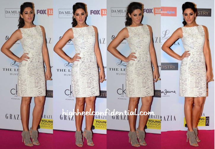 Nargis Fakhri In My Village By Rimzim Dadu At Grazia Young Fashion Awards 2015-1