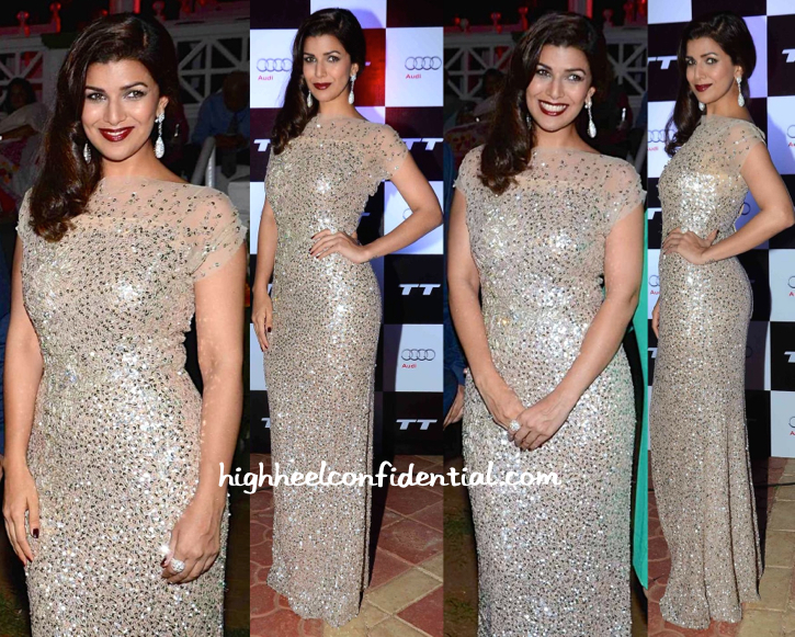 Nimrat Kaur Wears Jenny Packham To An Audi Event-1