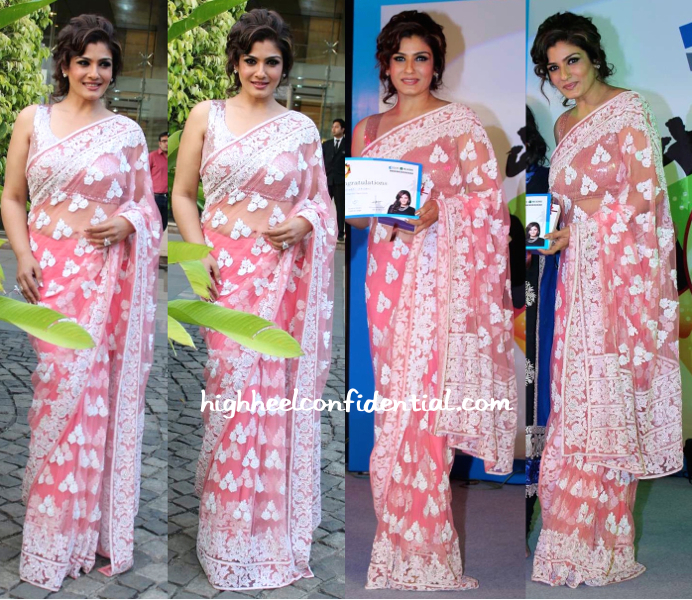 Raveena Tandon In Manish Malhotra At An Event For Religare-1