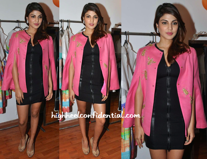 Rhea Chakraborty In Kukoon At Dubai Local Pop Up Shop