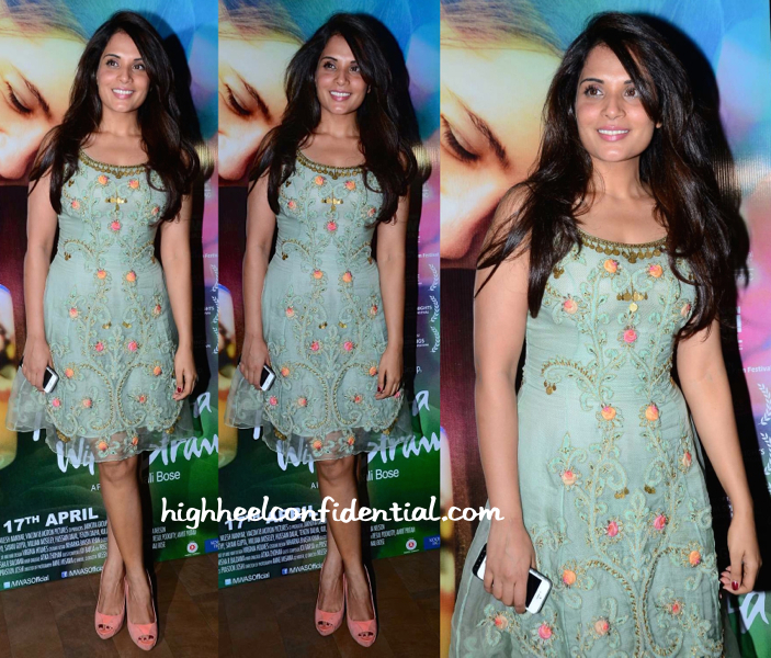 Richa Chadda At Margarita With A Straw Screening