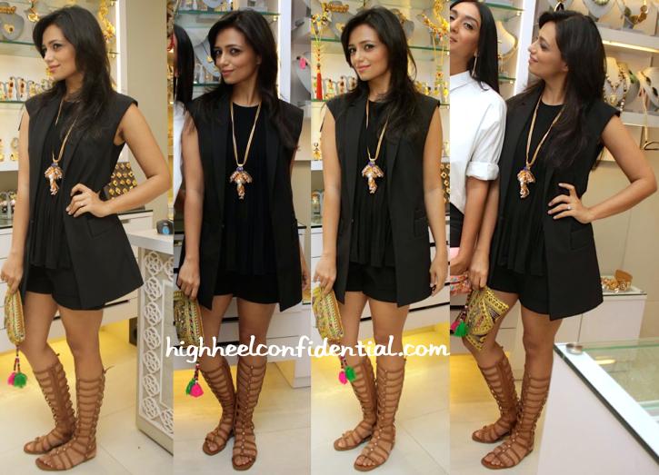 Roshni Chopra In Zara At Minerali Collection Launch