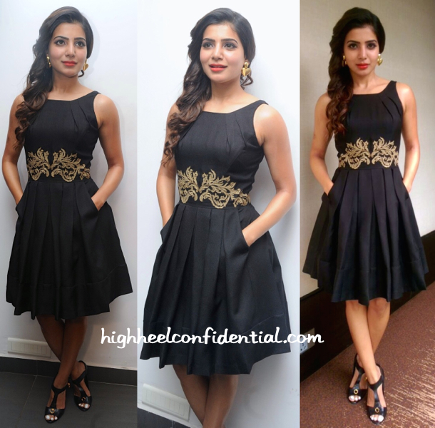 Samantha In Koëcsh At 'Son Of Satyamurthy' Promotions