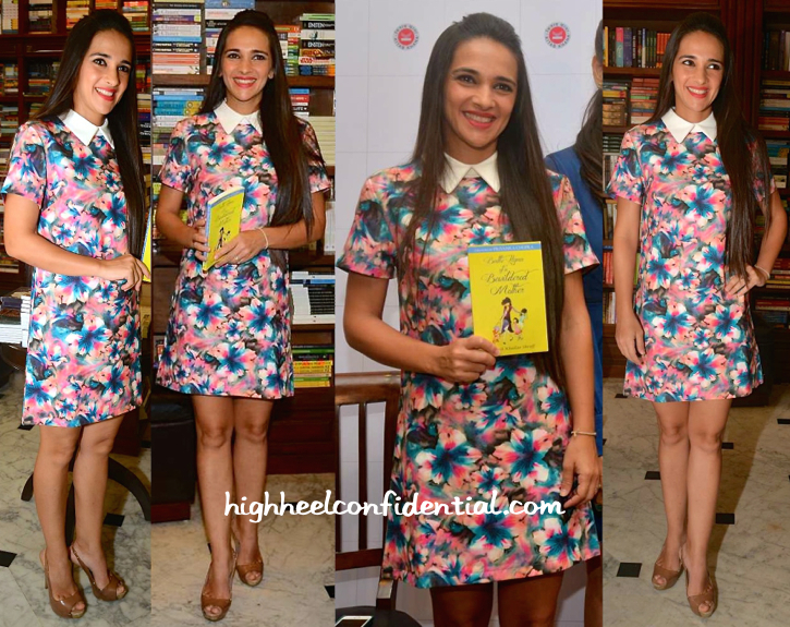 Tara Sharma Saluja At Shunali Shroff's Book Launch