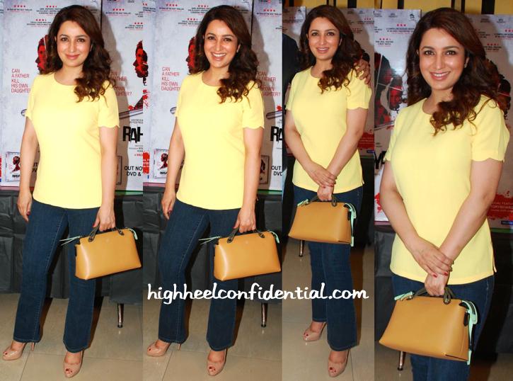 Tisca Chopra Fendi Bag Rahasya DVD Launch