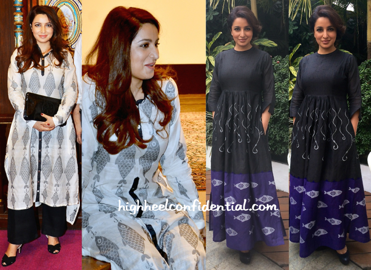 Tisca Chopra Wears Debashri Samanta To 'Rahasya' Screening And A LitFest In Kolkata