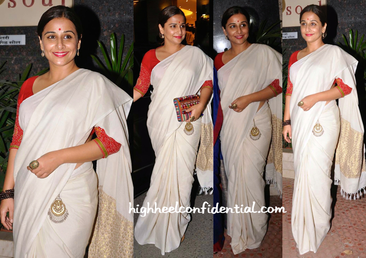 Vidya Balan At Shayonti Roy Kapur's Art Exhibition-2