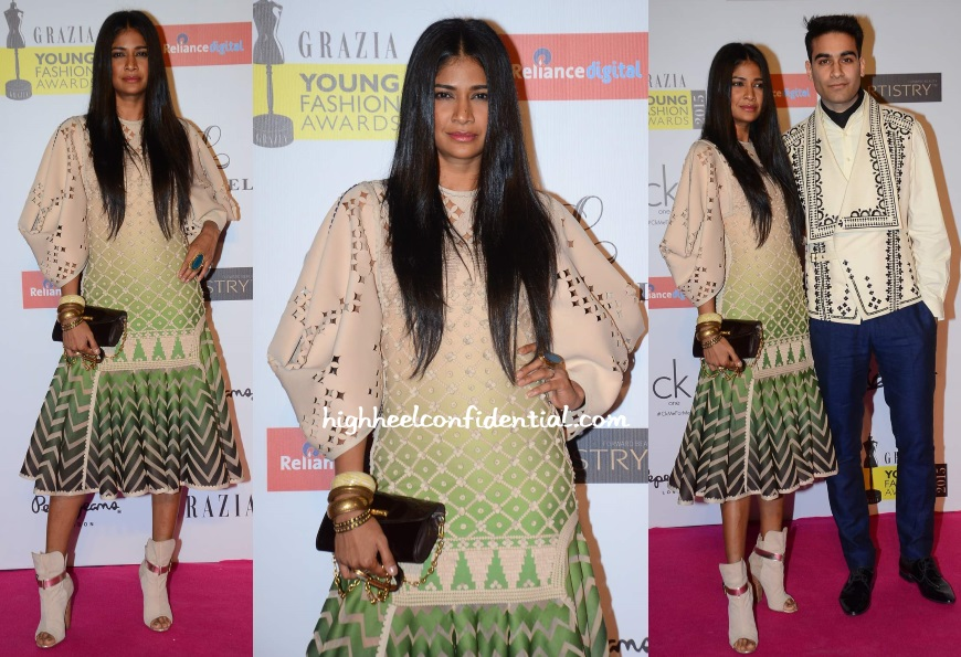carol-gracias-sahil-kochhar-grazia-young-fashion-awards-2015