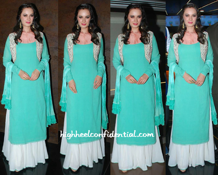 evylin sharma in divani couture and aquamarine at shqedarriyaan music launch-1