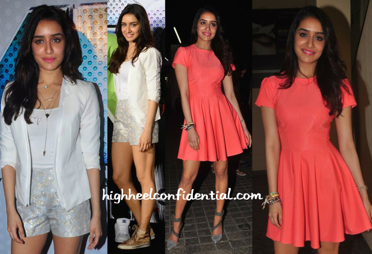 shraddha kapoor at abcd 2 trailer launch and at avengers screening-1