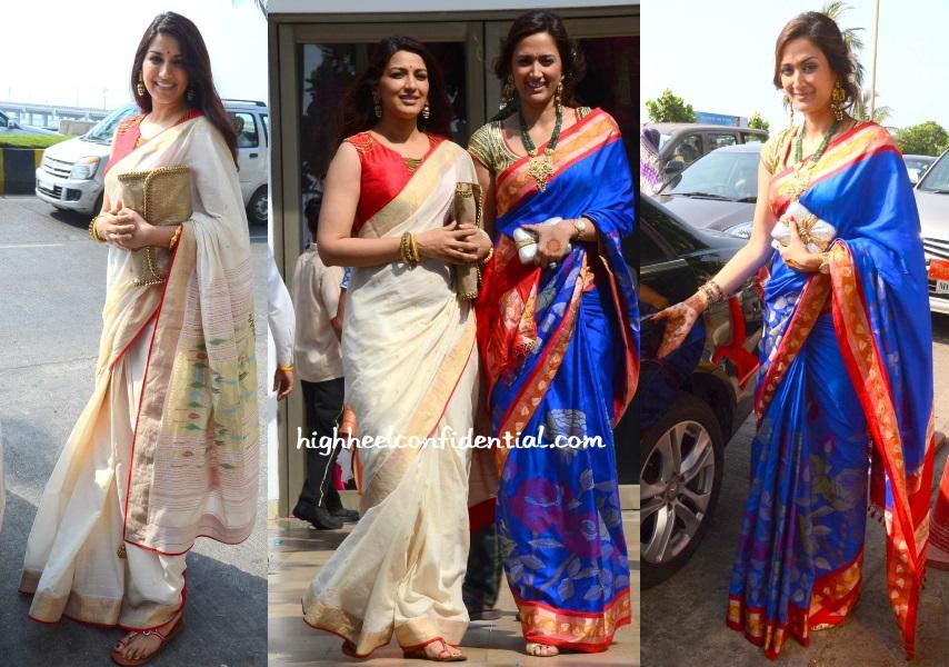 sonali-bendre-gayatri-joshi-wedding