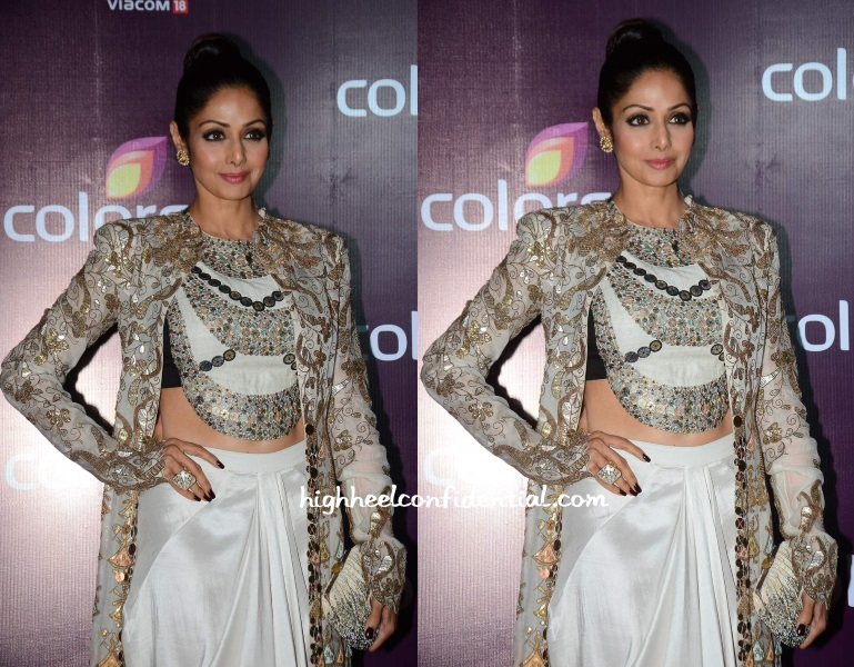sridevi-anamika-khanna-colors-tv-bash-2015-1