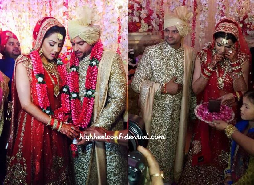 suresh-raina-priyanka-sabyasachi-wedding
