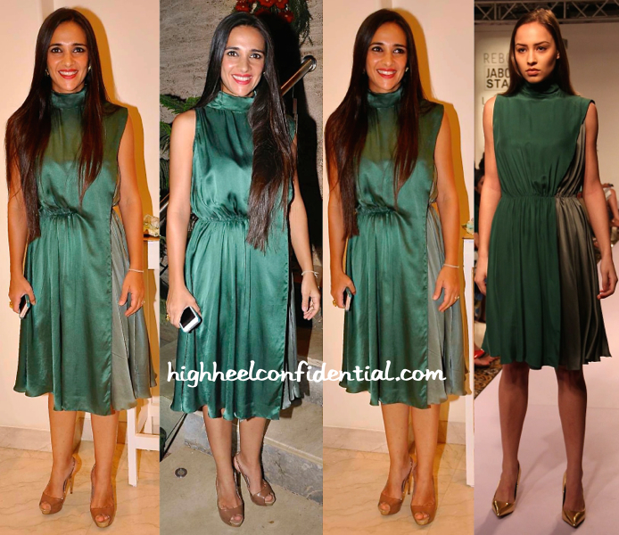 tara sharma saluja in reboot by anuj bhutai at Vidya Balan At Shayonti Roy Kapur's Art Exhibition