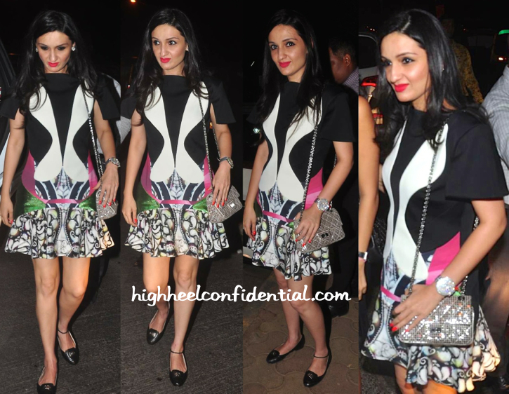 Anu Dewan Wears Peter Pilotto To 'Piku' Success Bash