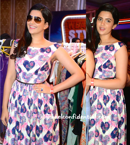 Deeksha Seth In Nisha Sainani At Elle Carnival 2015-2