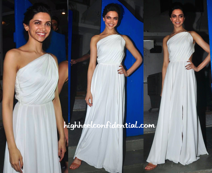 Deepika Padukone At 'Piku' Success Bash-1