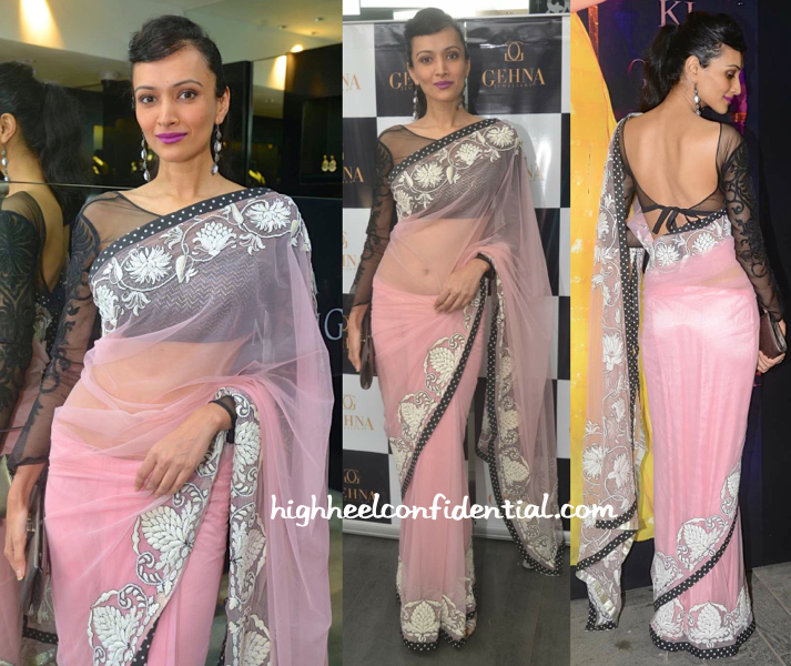 Dipannita Sharma In Niki Mahajan At Shaina NC For Gehna Jewellers Collection Preview-2