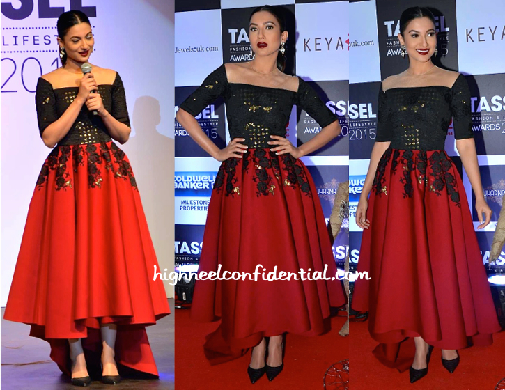 Gauahar Khan At Tassel Awards 2015