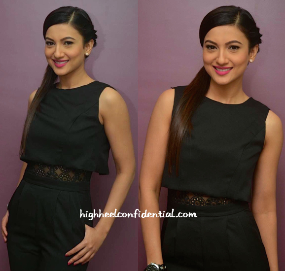 Gauahar Khan In Girls On Film Jumpsuit At Alma Laser Clinic Launch-2
