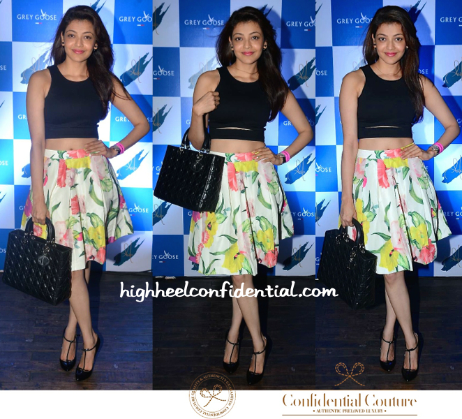 Kajal Aggarwal At Grey Goose Event