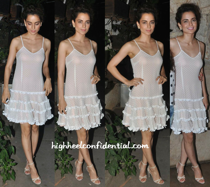 Kangana Ranaut At Tanu Weds Manu Returns Screening
