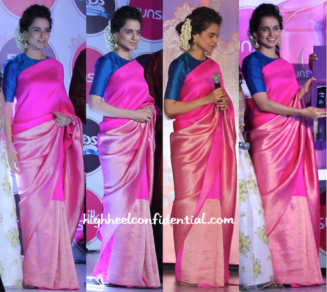 Kangana Ranaut In Payal Khandwala And Jaipur Gems At Sunsilk Event-1