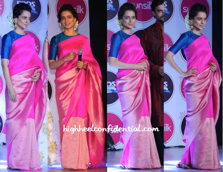 Kangana Ranaut In Payal Khandwala And Jaipur Gems At Sunsilk Event-2