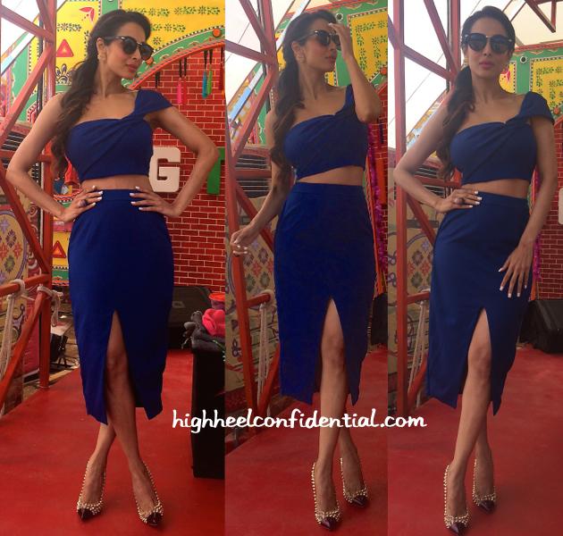 Malaika Arora Khan On India's Got Talents Sets-Hema Kaul