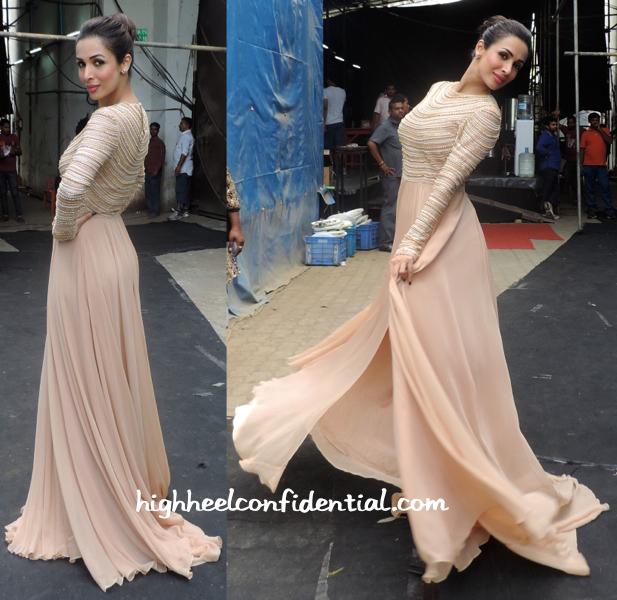 Malaika Arora Khan On India's Got Talents Sets-nachiket barve