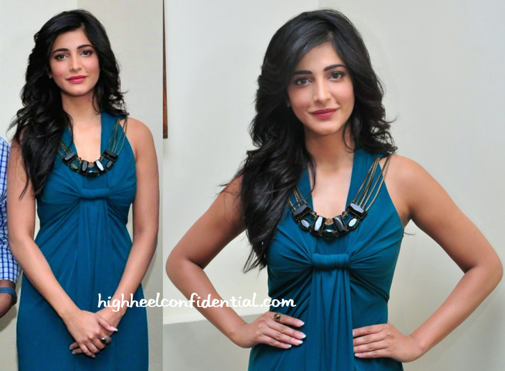 Shruti Haasan In Ranna Gill At 'Gabbar' Game App Launch-2