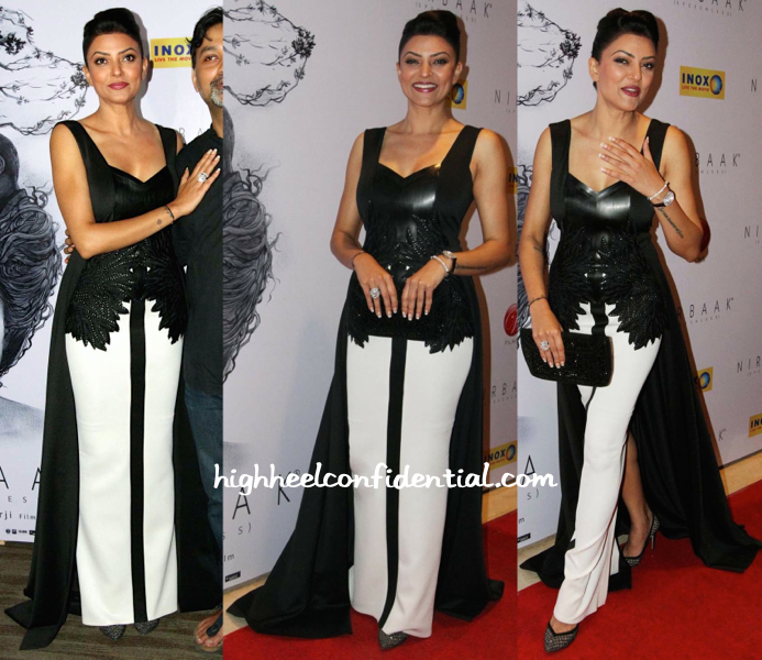 Sushmita Sen In Amit Aggarwal At 'Nirbaak' Premiere-1