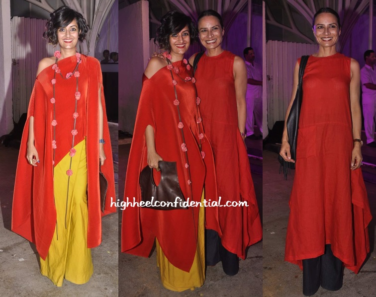 adhuna-akhtar-payal-khandwala-wella-paul-hood-event