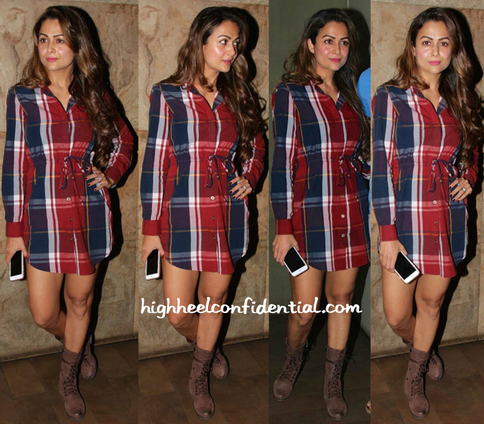 amrita arora-piku screening-noble faith dress