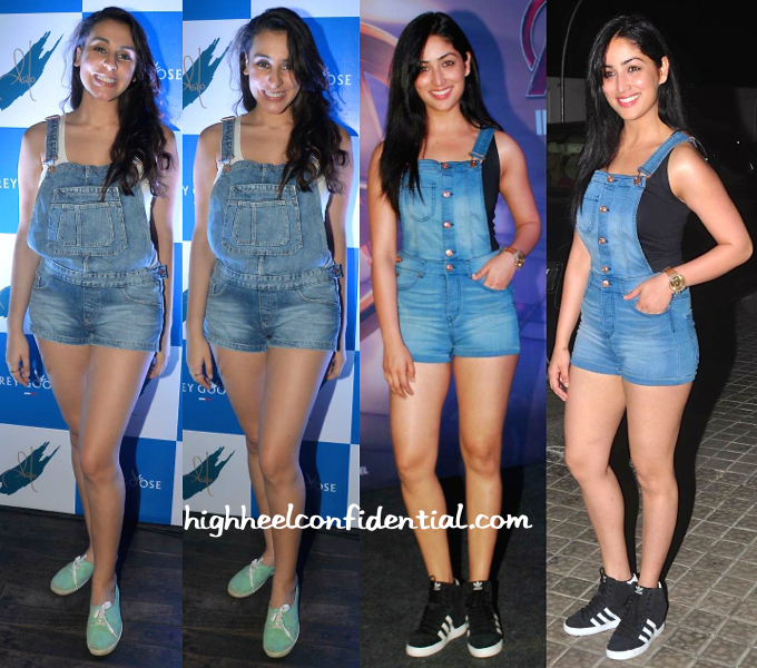 anindita nair at grey goose event and yami gautam at avengers premiere