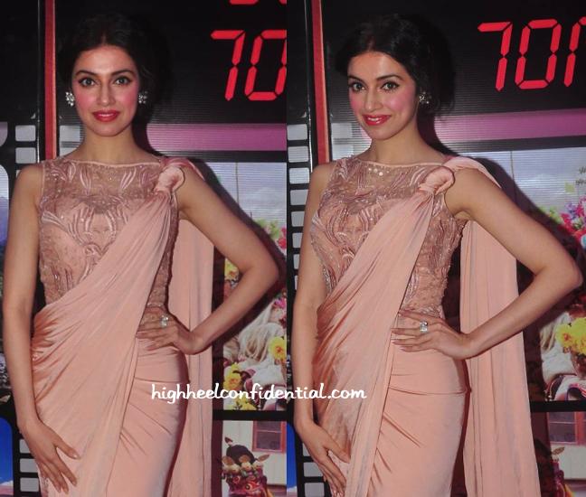 divya khosla kumar at j&k 70mm party-1