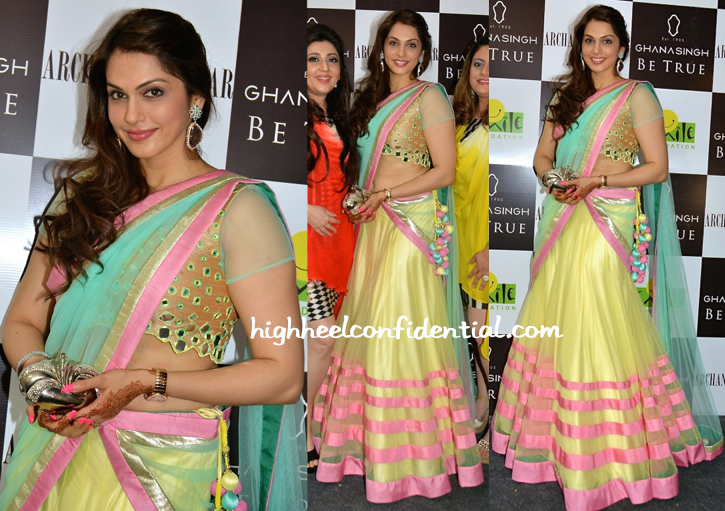 isha koppikar at ghana singh be true event