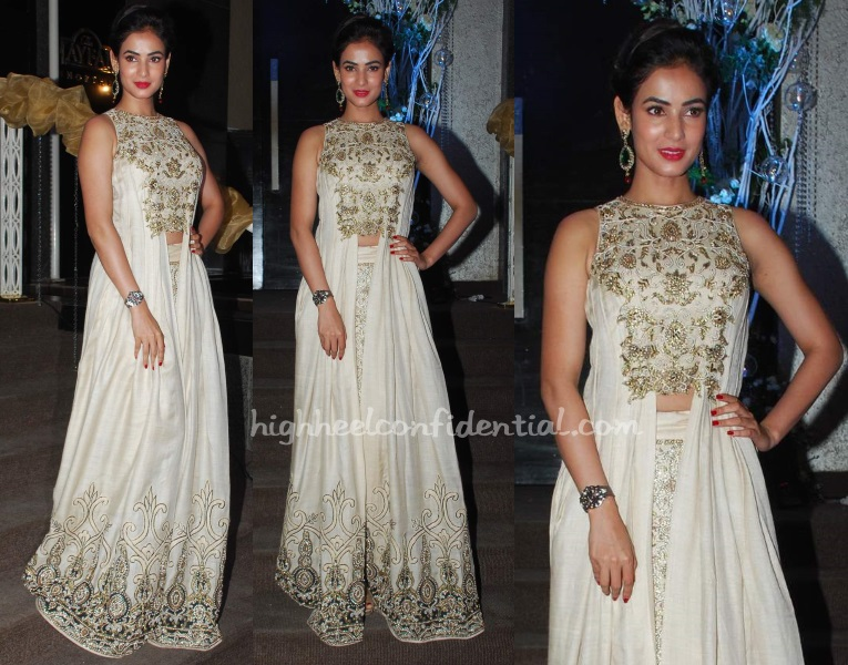 sonal-chauhan-neeta-lulla-wedding-reception