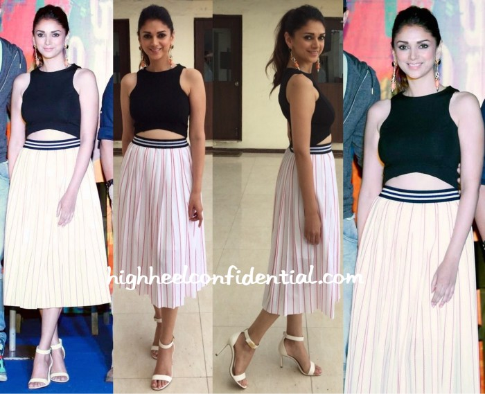 Aditi Rao Hydari Wears Madison To 'Guddu Rangeela' Promotions-1