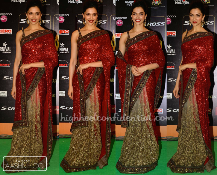 Deepika Padukone In Sabyasachi At IIFA 2015-1