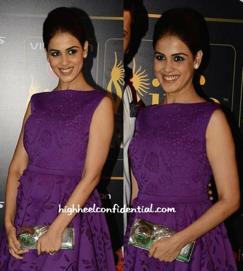 Genelia D'Souza In Jatin Varma At IIFA Rocks 2015-2