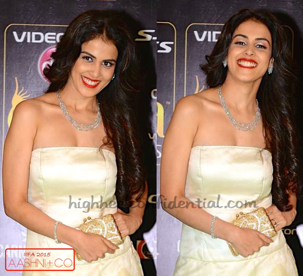 Genelia D'Souza In Raghavendra Rathore At IIFA 2015