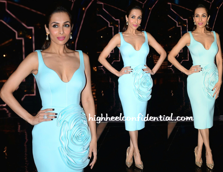 Malaika Arora Khan In Gauri And Nainika On India's Got Talent Sets-1