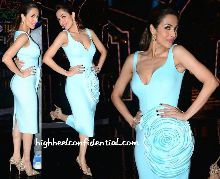 Malaika Arora Khan In Gauri And Nainika On India's Got Talent Sets-2