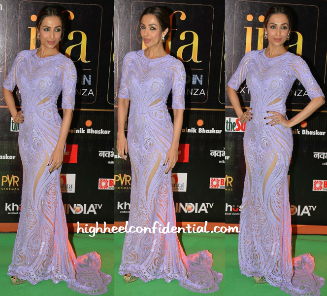 Malaika Arora Khan In Michael Cinco At IIFA Fashion Extravaganza 2015-1