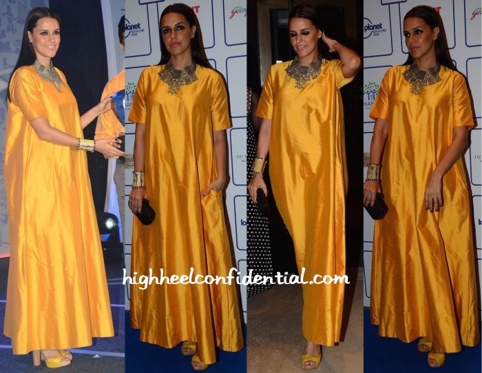 Neha-Dhupia-In-Payal-Khandwala-At-Lonely-Planet-Awards-2015-2-700x541