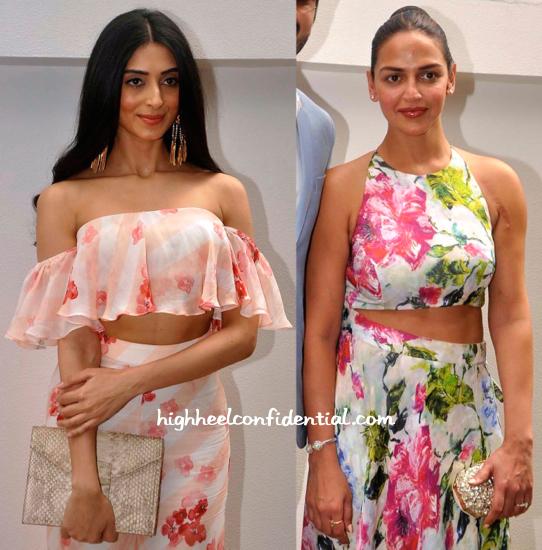 Pernia Qureshi And Esha Deol At Nishka Lulla-Dhruv Mehra Pre-Wedding Brunch-2