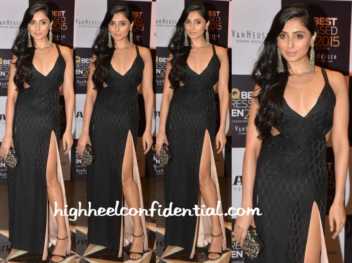 Pernia Qureshi In Temperley London At GQ Best Dressed Men 2015